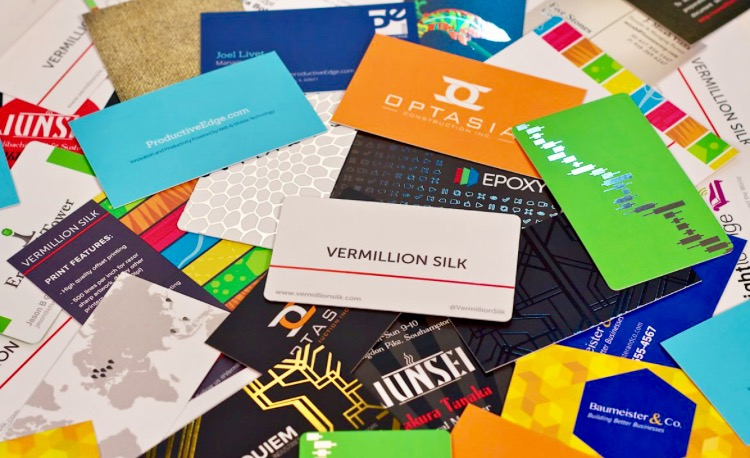 2000 Business Cards Collected But Not a One Segmented.   P.S. ...
